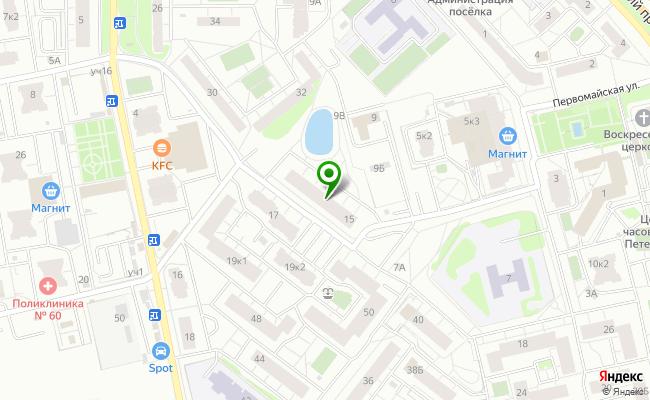 Сбербанк Санкт-петербург п. Шушары, ул. Первомайская 15, лит. А карта