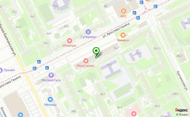 Сбербанк Санкт-петербург ул. Ярослава Гашека 9, корп.1, лит. А, пом. 25Н карта