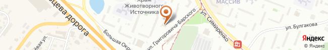 Автошкола Жайворонок на карте, г. Киев, улица Григоровича-Барского 5