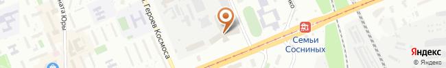 Автошкола Константа-ГС на карте, г.Киев, пр-т. Леся Курбаса, 2Б
