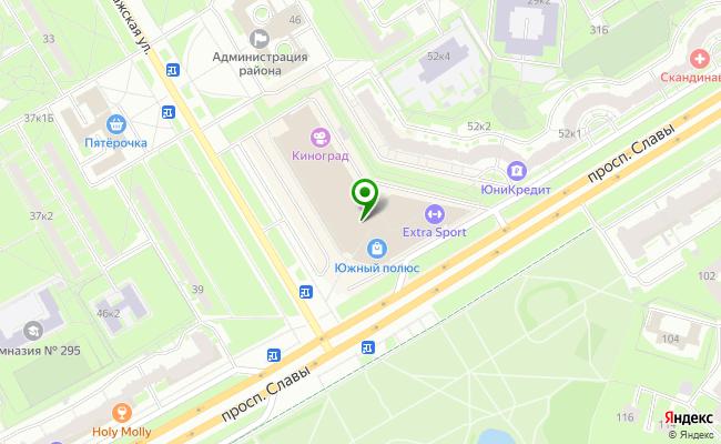 Сбербанк Санкт-петербург ул. Пражская 48/50, лит. А карта