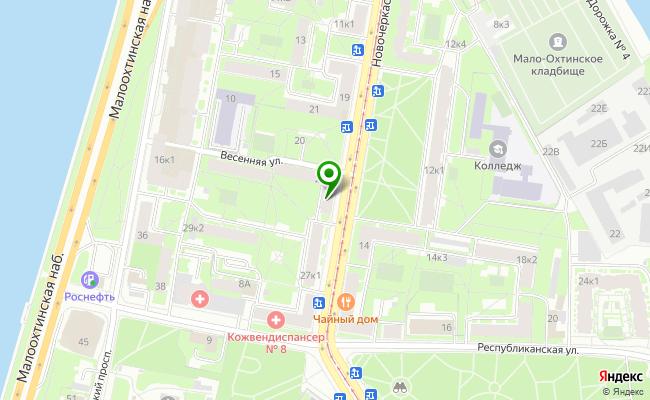 Сбербанк Санкт-петербург проспект Новочеркасский 25, корп.1, лит. А карта