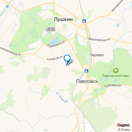 UP-квартал Пушкинский на карте