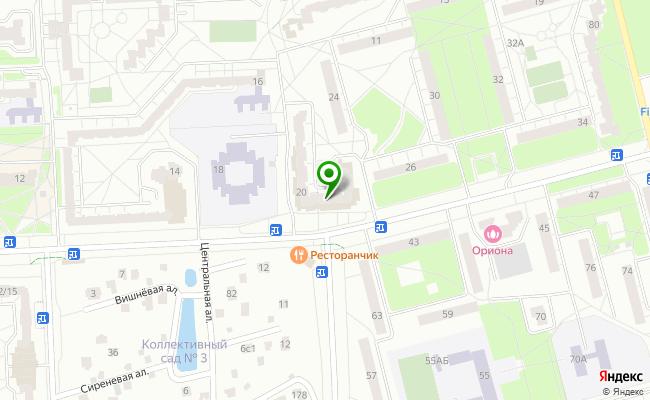 Сбербанк Санкт-петербург г. Пушкин, ул. Генерала Хазова 20, лит. А, пом.2Н карта