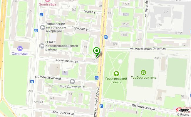 Сбербанк Санкт-петербург проспект Среднеохтинский 10, лит. А карта