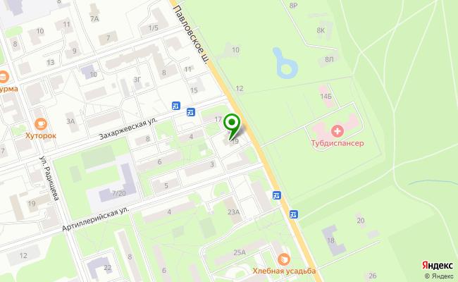 Сбербанк Санкт-петербург г. Пушкин, шоссе Павловское 19, лит. А, пом. 1Н карта