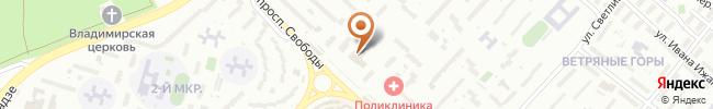 Автошкола Автоуспех на карте, г. Киев, пр-кт Свободы, 26