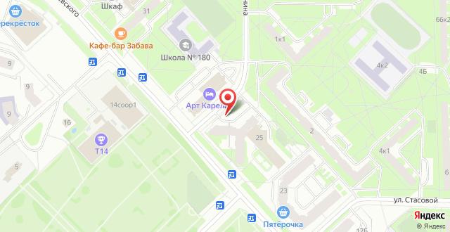 Отель Карелия на карте