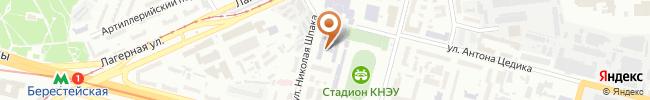 Автошкола Лидер на карте, г. Киев, ул. Николая Шпака, 4