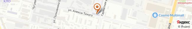 Автошкола Боллид на карте, г. Киев, ул. Гарматная, 10