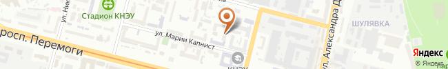 Автошкола Профи-Драйв на карте, г.Киев, ул.Желябова, 2а