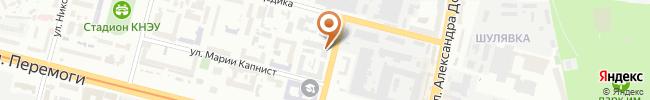 Автошкола Александров на карте, г. Киев, ул. Нестерова, 3