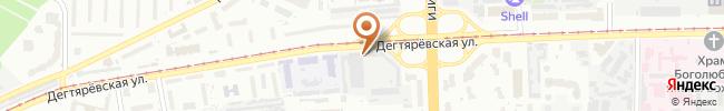 Автошкола Киевпастранс на карте, г.Киев, ул.Дегтяревская, 37