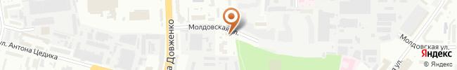 Автошкола Автомат на карте, г. Киев, ул. Довженко, 12а