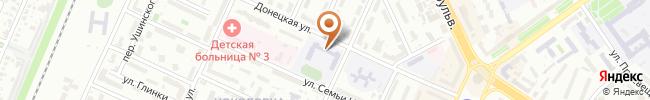 Автошкола Боллид на карте, г.Киев, ул. Донецкая 25