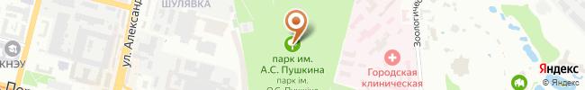 Автошкола Альбатрос на карте, г. Киев, ул. Княжий затон, 17-в, с/ш №62