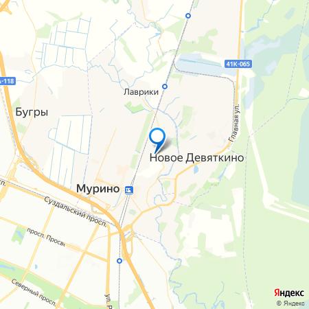квартал ЦДС Северный на карте