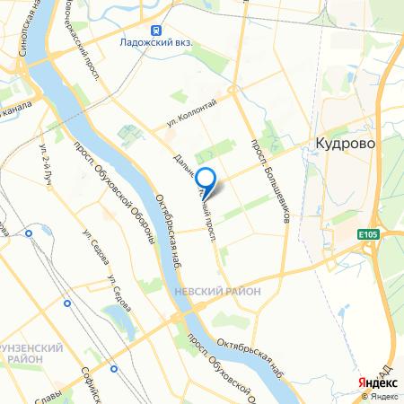 жилой комплекс Дальневосточный 15 на карте