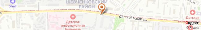 Автошкола На Права на карте, г. Киев, ул. Дегтяревская, 17