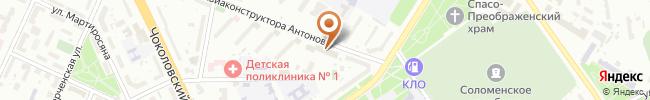 Автошкола Энергия движения на карте, г. Киев, ул. Антонова, 5