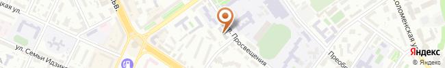 Автошкола АВТОБАН на карте, г. Киев, ул. Просвещения, 6