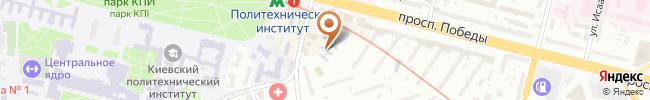 Автошкола Автострит на карте, г. Киев, пер. Полетехнический, 3-а
