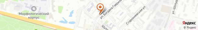 Автошкола Корда Профи на карте, г. Киев, ул. В. Василевской, 7