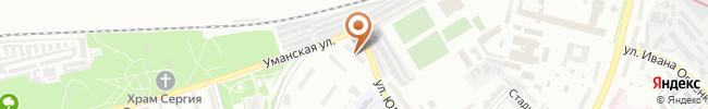 Автошкола Талисман на карте, г. Киев, ул. Фучика, 19