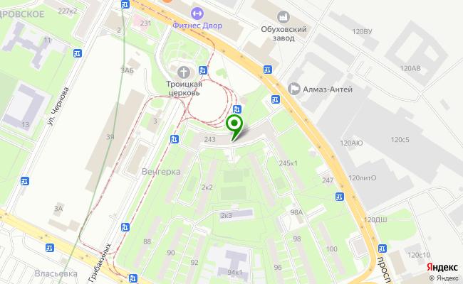 Сбербанк Санкт-петербург проспект Обуховской обороны 243, лит. А, пом. 4Н карта