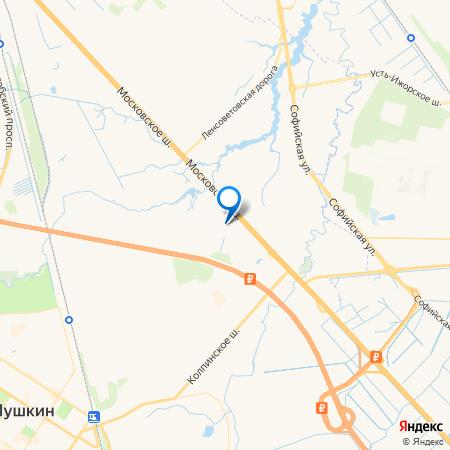 Ленсоветовский (Титан) на карте