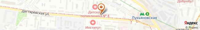 Автошкола ВСА на карте, г. Киев, ул. Дегтяревская, 8а