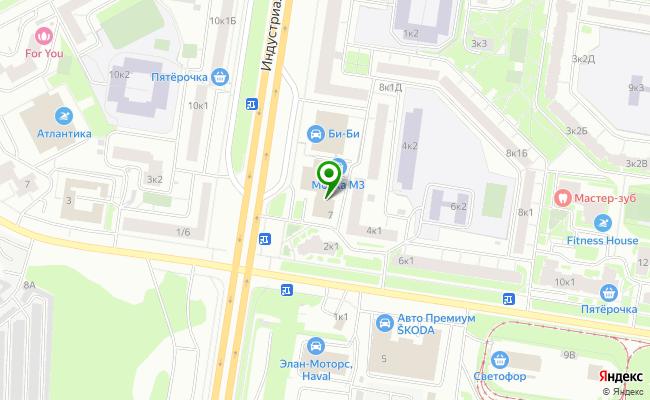 Сбербанк Санкт-петербург проспект Индустриальный 7, лит. А карта