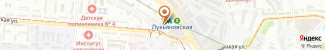 Автошкола Бахмацкого на карте, г. Киев, ул. Белорусская, 2 (литера А)