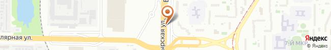 Автошкола Бахмацкого на карте, г. Киев, ул. Богатырская, 2-в с/ш №231