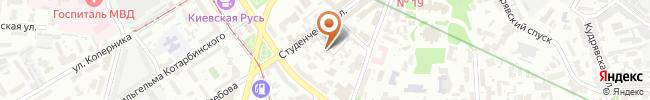 Автошкола ТСОУ на карте, г. Киев, Филипповский переулок, 4