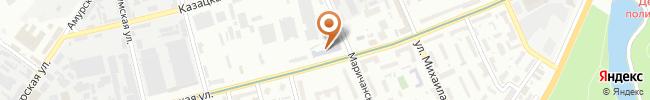 Автошкола «Учебный центр B C D» на карте, г.Киев, ул. Васильковская, 20