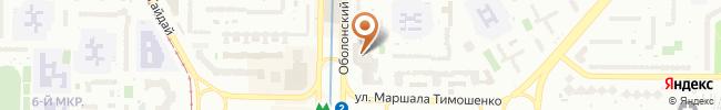 Автошкола Матрикс на карте, г. Киев, Оболонский пр-т, 26