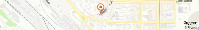 Автошкола Освита-Авто на карте, г. Киев, ул. Жилянская 46, 2 этаж