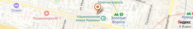 Автошкола Автоучсервис на карте, г. Киев, ул. Лысенко, 8