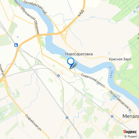 Рыбацкая гавань на карте