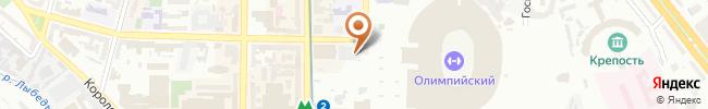Автошкола Морком на карте, г. Киев, ул. Красноармейская, 53