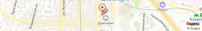 Автошкола ПечерскАвто на карте, г. Киев, ул. Шота Руставели, 37