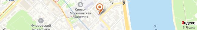 Автошкола ДОСАФ на карте, г.Киев, ул. Братская, 12