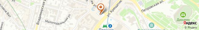 Автошкола АВТОБАН на карте, г. Киев, ул. Глушкова, 13б