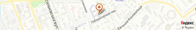 Автошкола Викинг на карте, г. Киев, ул. Анри Барбюса 9, оф.424