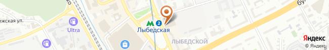 Автошкола Освита-Авто на карте, г. Киев, ул. Красноармейская 143, ТЦ