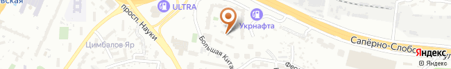 Автошкола Сигнал на карте, г. Киев, Московская пл., ул. Большая Китаевская 61А
