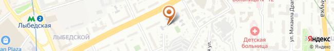Автошкола Освита-Авто на карте, г. Киев, бул. Дружбы Народов 12-Б