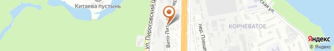 Автошкола ННЦ ПТО АПНУ на карте, г. Киев, Чапаевское шоссе, 98