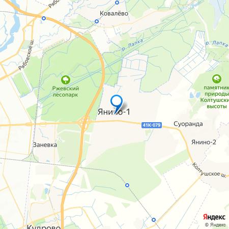 Брусничный-3 на карте